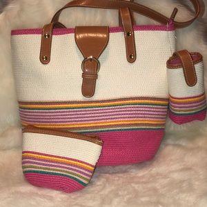 Handbags - Beautiful 3-Pc Shoulder Bag